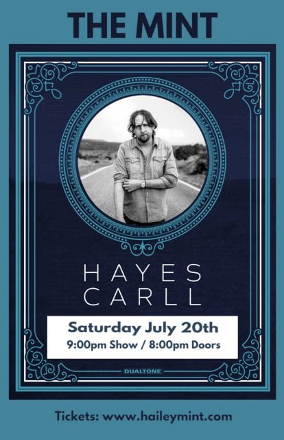 Hayes Carll LIVE at The Mint @ The Mint