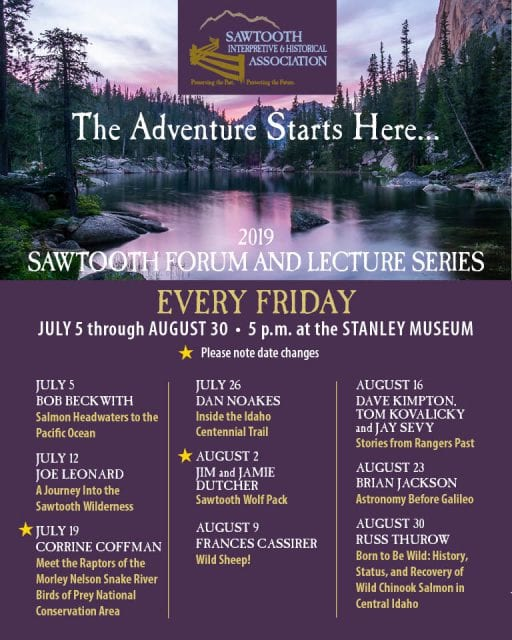 Sawtooth Forum & Lecture Series @ Stanley Museum | Stanley | Idaho | United States