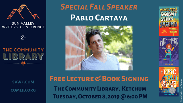 Pablo Cartaya Lecture & Book Signing, Presented by Sun Valley Writers' Conference & The Community Library @ The Community Library | Sun Valley | Idaho | United States