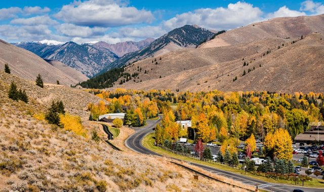 Fall in love with Fall in Sun Valley, Idaho