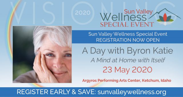 A Day with Byron Katie @ Argyros Performing Arts Center